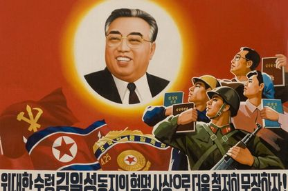 Kim Il-sung, fondateur et premier dirigeant de la Corée du Nord