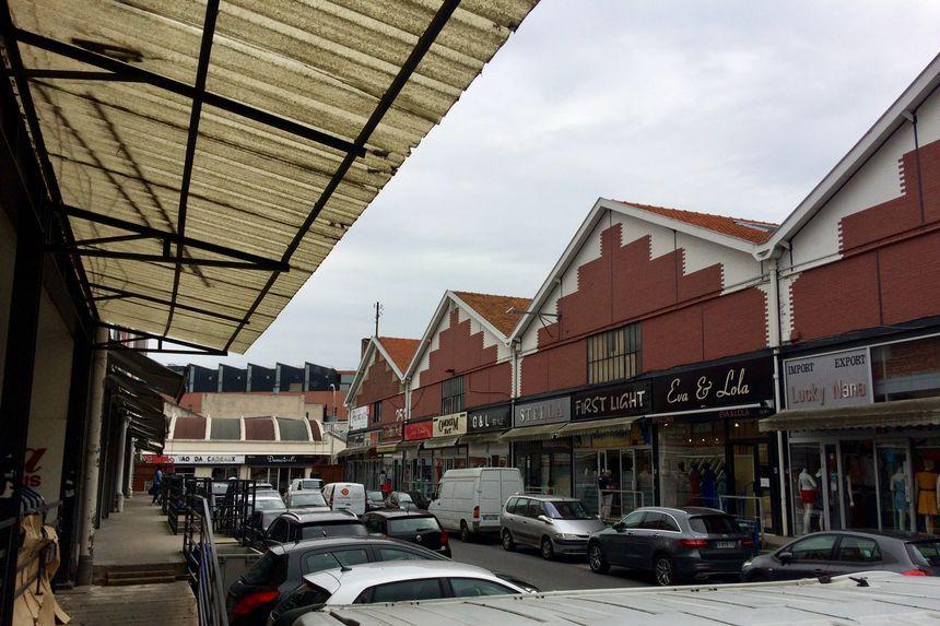 Le quartier des grossistes d'Aubervilliers.