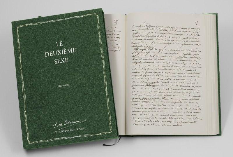 Le Deuxième sexe : le manuscrit (Les éditions des Saints Pères)