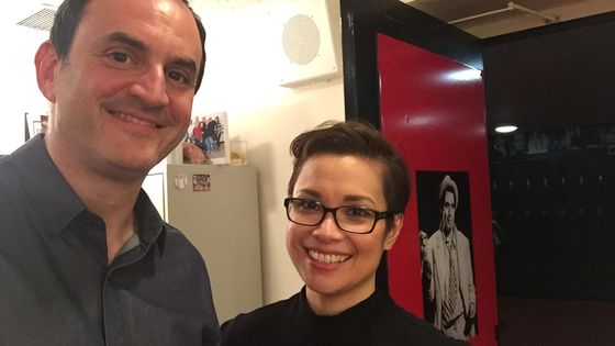 Lea Salonga et Laurent Valière / New York