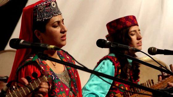 Ensemble Bazm e liqa (détail) en concert