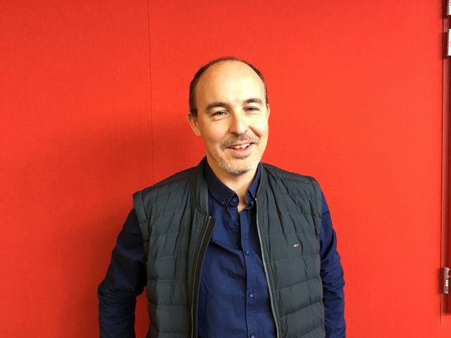 Le journaliste Lionel Lévy, du collectif Extra-muros