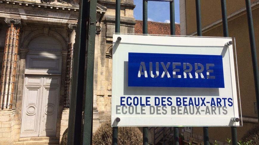 L'école municipale des Beaux Arts à Auxerre