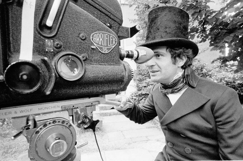 François Truffaut derrière la caméra