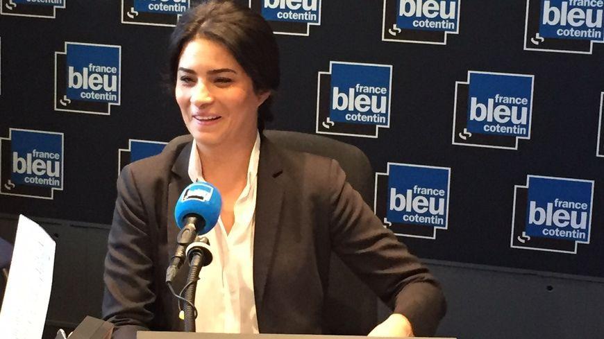 La députée cherbourgeoise LREM Sonia Krimi, invitée de France Bleu Cotentin ce vendredi 15 juin