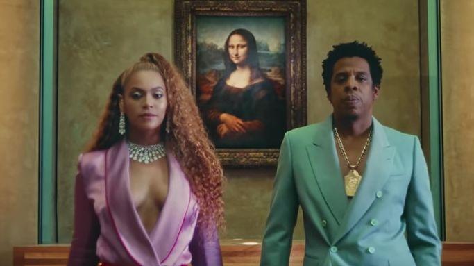 Beyoncé et Jay Z ont tourné leur dernier clip au musée du Louvre à Paris