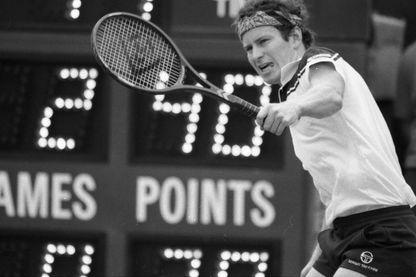 John McEnroe le 29 août 1984 à l'Open des États-Unis.
