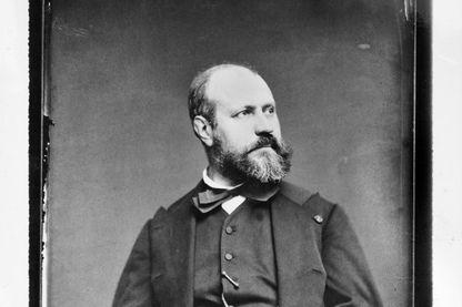 Portrait de Charles Gounod, compositeur français, photographie prise en 1865-1870.