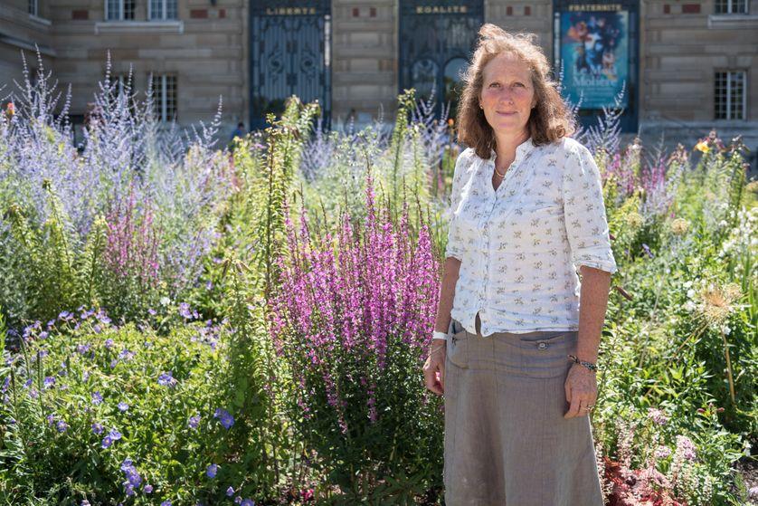 Cathy BIass-Morin, Directrice des Espaces verts de la ville de Versailles.