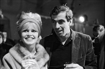 Brigitte Bardot avec Roger Vadim dans le tournage de 'Le Repos Du Guerrier' en Italie en Janvier 1962.