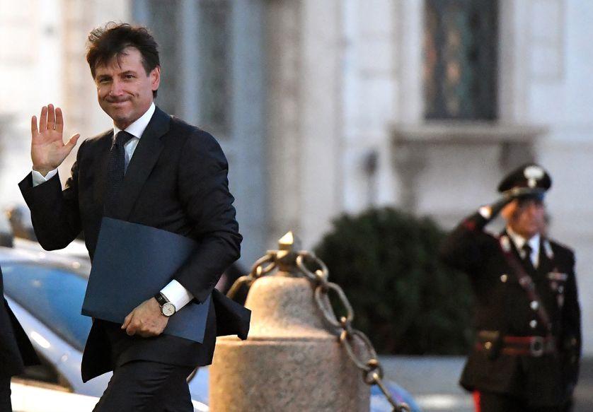 Le nouveau Premier ministre italien Giuseppe Conte