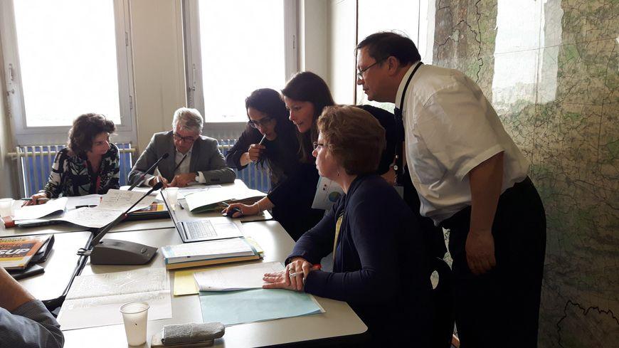 Réunion de la CAES de Créteil, commission d'accès à l'enseignement supérieur, chargée de faire des propositions aux candidats de Parcoursup qui n'ont essuyé que des refus.