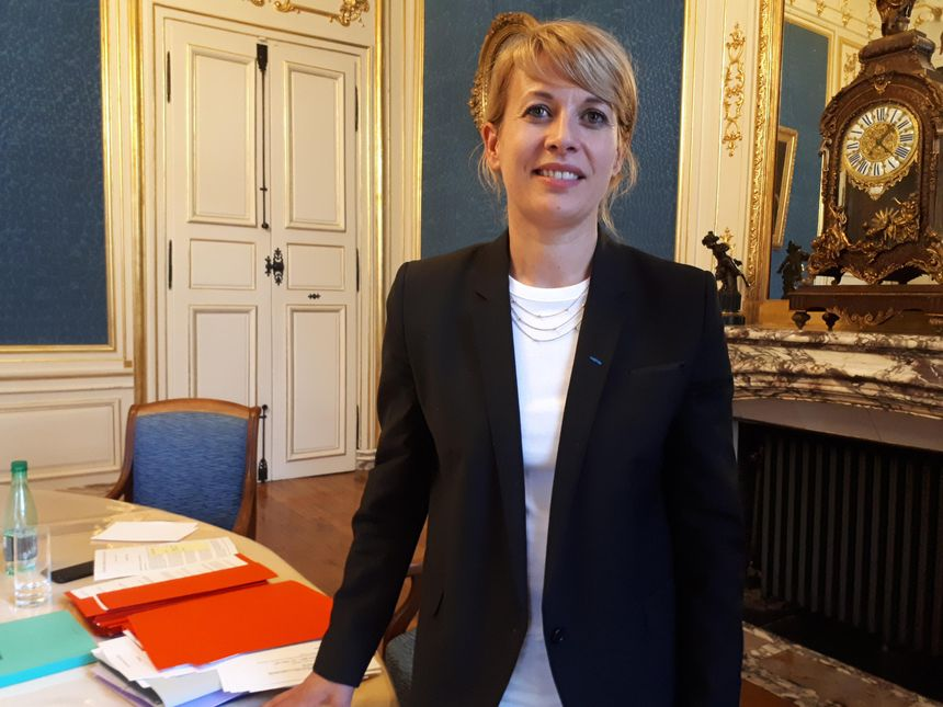 Nathalie Koenders, la première adjointe au maire de Dijon - Radio France