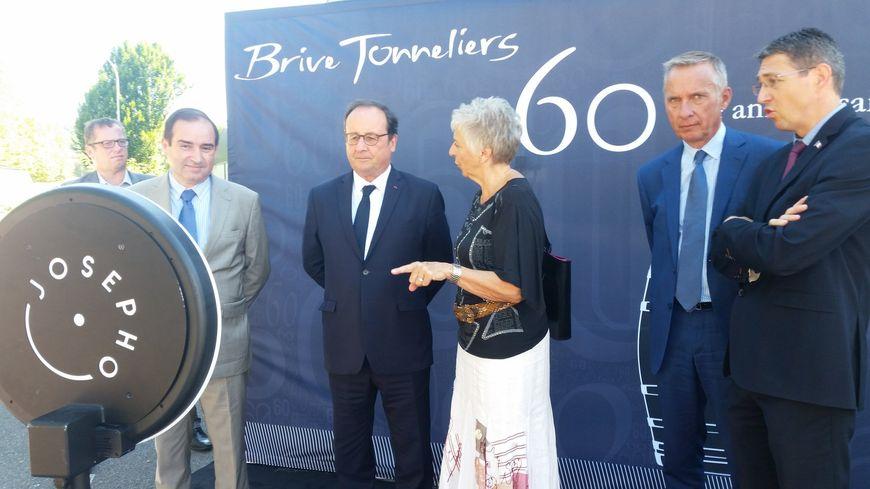 Brive Tonneliers fête ses 60 ans, François Hollande charge Donald Trump