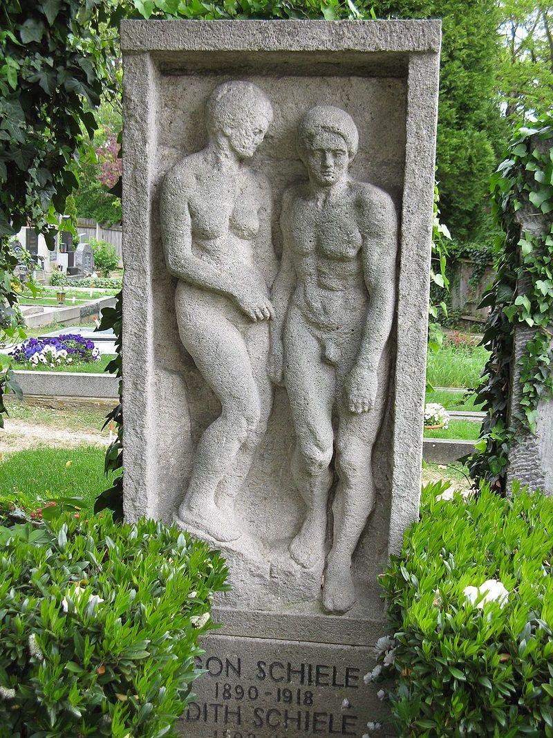 Tombe d'Egon Schiele