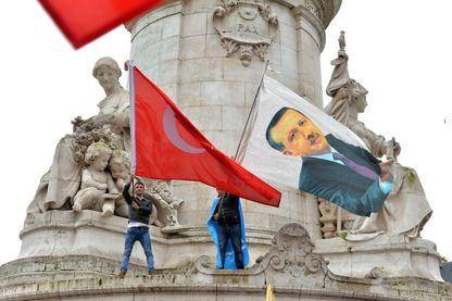 Manifestation pro Erdogan
