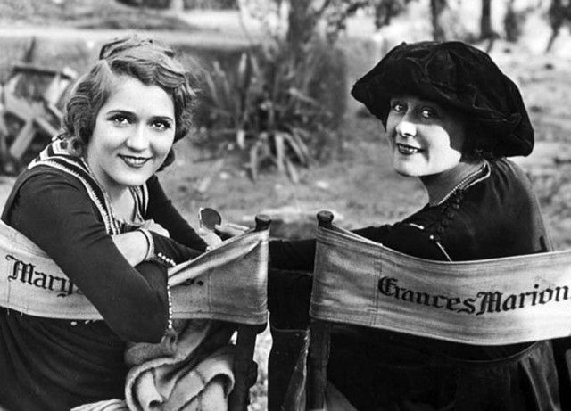 Maru Pickford & Frances Marion