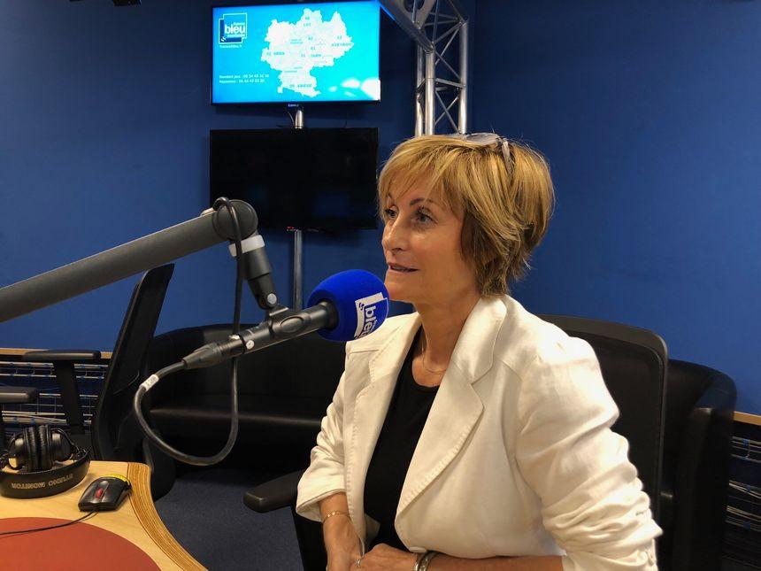 La toulousaine Nadine Herrero, présidente de l'association des accidentés de la vie