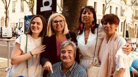 La Bande à Servane,Aurélie, Servane, Eric, Isabelle et Cécile