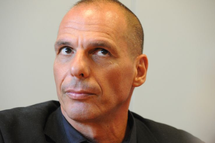 Yánis Varoufákis en 2015
