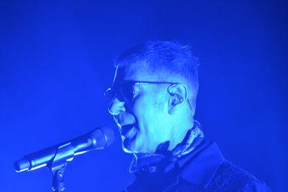 Etienne Daho en concert aux Francofolies de La Rochelle en 2015