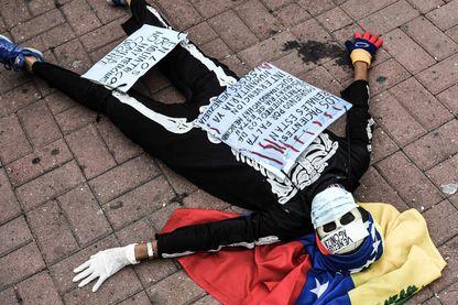 Manifestation pour la reconnaissance d'une véritable crise humanitaire au Vénézuéla
