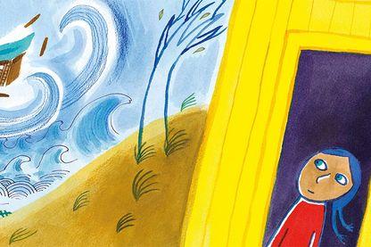 Chemin des dunes. Sur la route de l'exil, de Colette Hus-David et Nathalie Dieterlé, éditions Gautier Languereau
