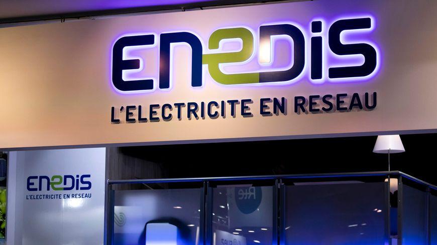 Le personnel  d'Enedis est en grève depuis une dizaine de jours.