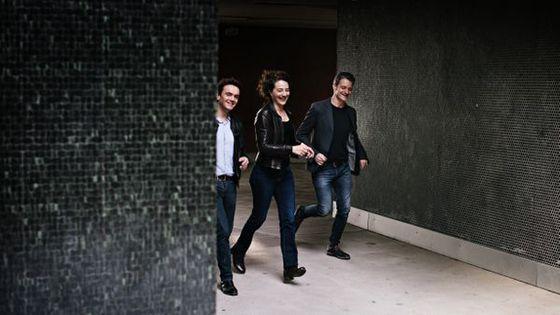 Trio Airés : Stéphane Kerecki, Airelle Besson, Edouard Ferlet