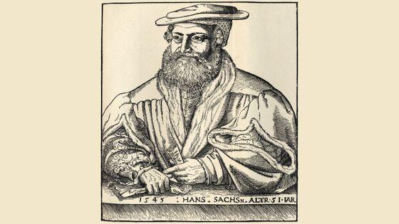"""Hans Sachs, un """"Meistersinger"""" (maître chanteur), poète , dramaturge et ... cordonnier"""
