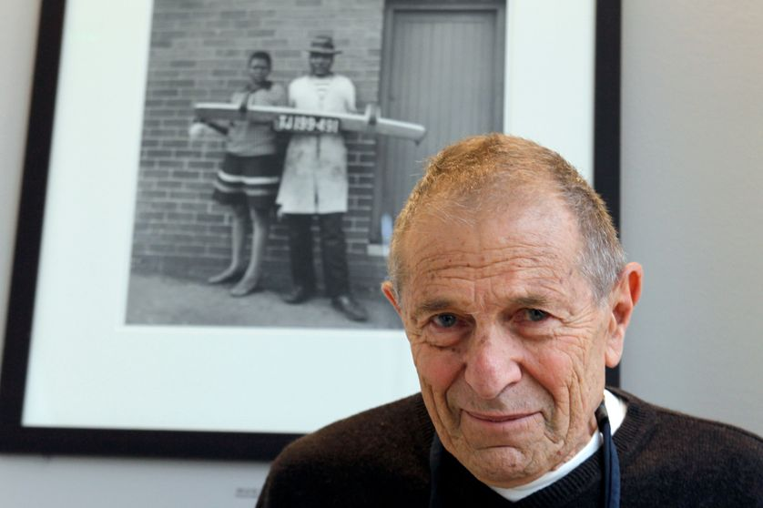 David Goldblatt en 2011 à la fondation Henri Cartier-Bresson Foundation.