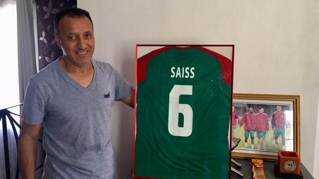 Radouane Saïss, le père de Romain Saïss, va suivre à la télé chaque match de son fils avec l'équipe du Maroc pendant le Mondial.