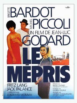 """Affiche du film """"Le Mépris"""""""