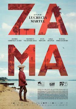 Affiche du film Zama de Lucrecia Martel (2018)