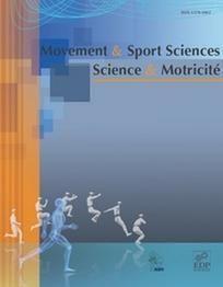 Mouvement & Sport Sciences n°94. Une approche argumentative des controverses en sciences du sport