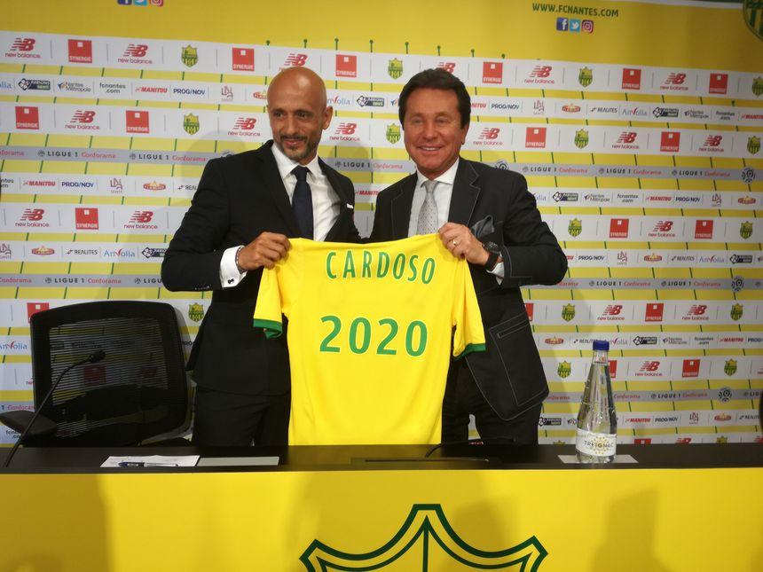 Miguel Cardoso a signé un contrat de deux ans avec le FC Nantes