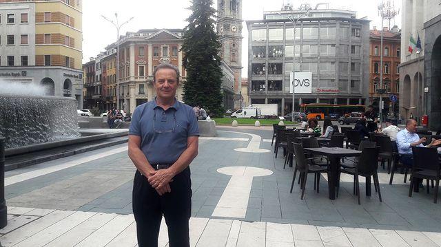Roberto Cenci est conseiller régional M5S en Lombardie
