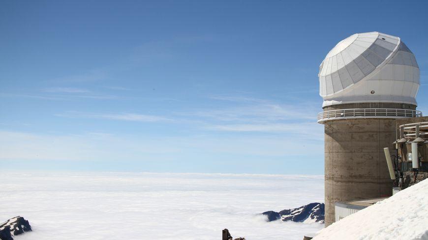 Le téléscope Bernard Lyot au Pic du Midi