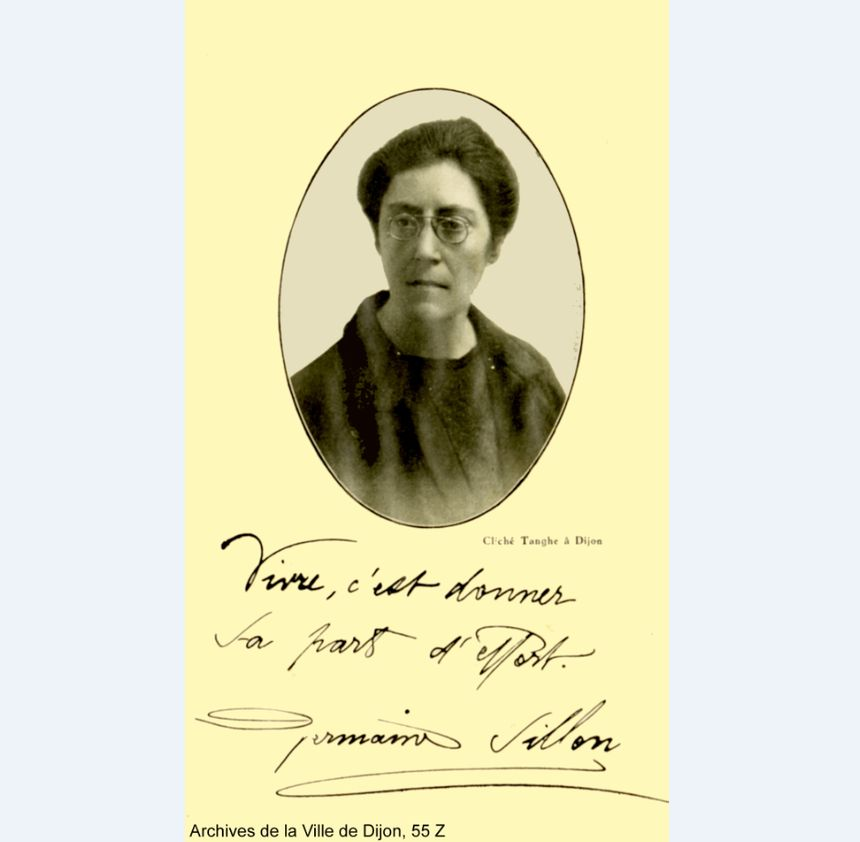 Portrait de Germaine Sillon