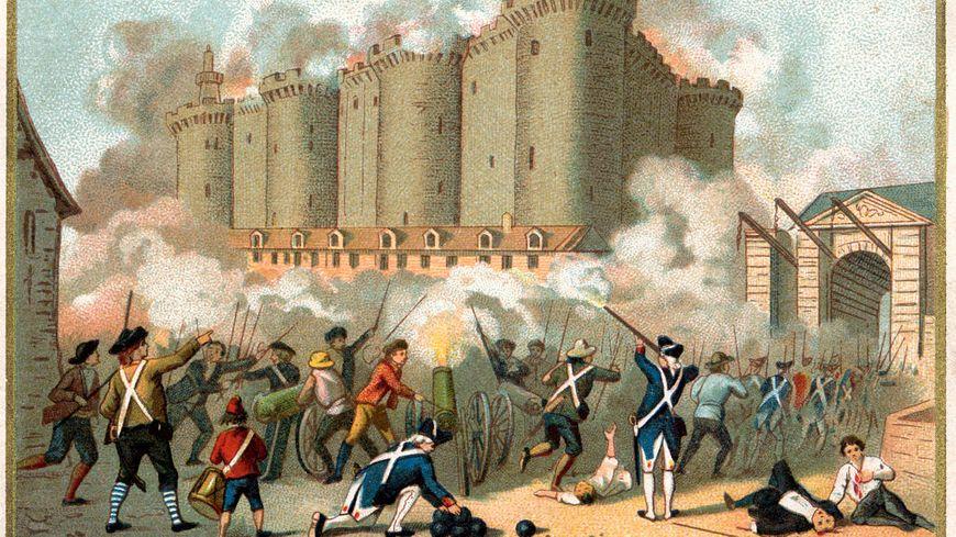 Le 14 juillet le Peuple de Paris prend la Bastille