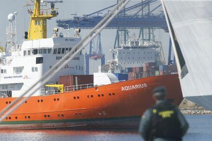 Les 630 migrants du navire humanitaire Aquarius sont finalement arrivés à Valence en Espagne dimanche
