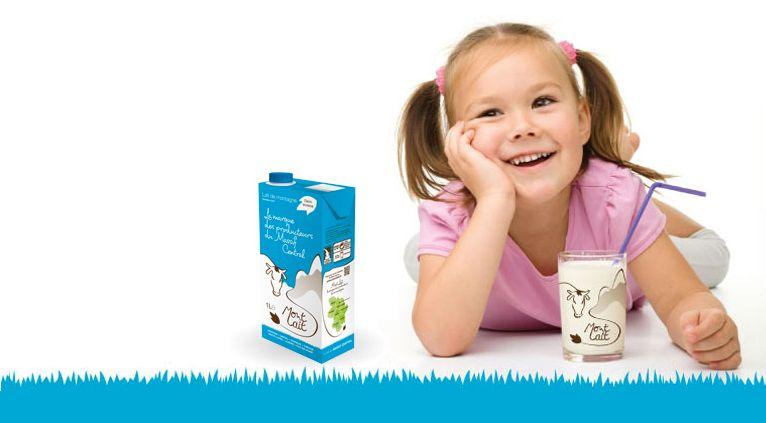 """460 exploitations de montagne vendent aujourd'hui leur lait sous la marque """"Mon Lait"""