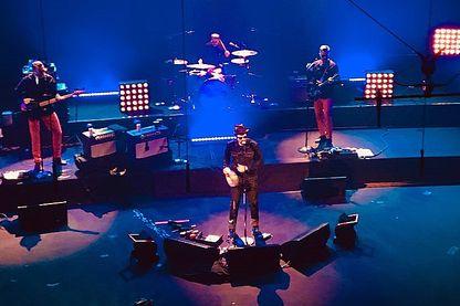 Mark Oliver Everett du groupe Eels en concert sur la scène du studio 105