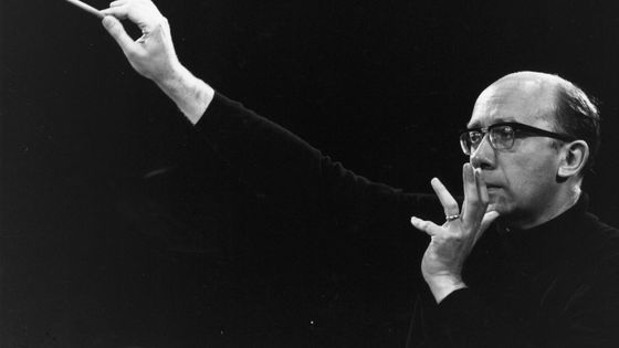 17th August 1966: Russian conductor Gennadi Rozhdestvensky