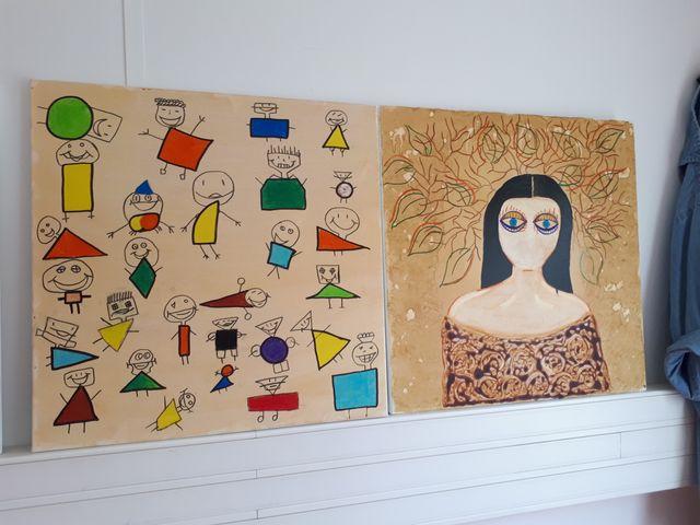 Les dessins de Karen, 14 ans et Shoukayra, 18 ans