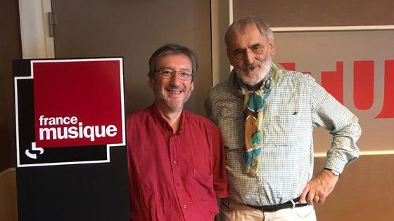 Arnaud Merlin et Helmut Lachenmann