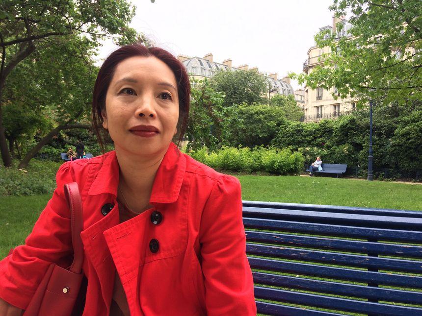 "Tamara Lui, présidente de l'association ""Chinois de France - Français de Chine""."