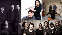 Concert Ocora Couleurs du Monde: Louise Jallu, Naïssam Jalal et Hazem Shaheen, The Emidy Project, Sonny Troupé sextet