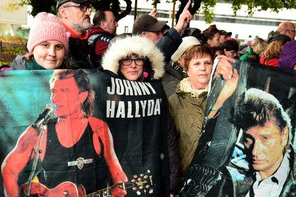 Les fans de Johnny Hallyday