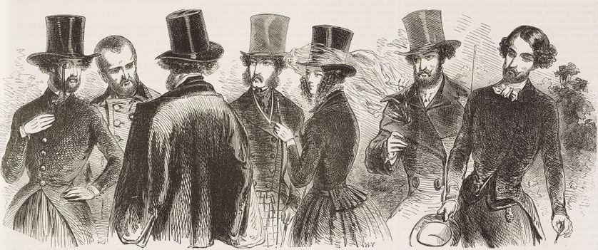 Bourgeois français du XIXème siècle